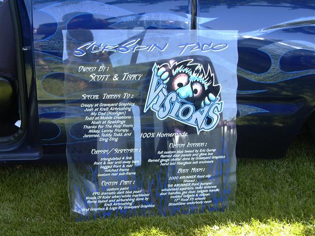 GraveyardGraphicscom Custom Vinyl Graphics For Your Mini Full - Car show display board ideas